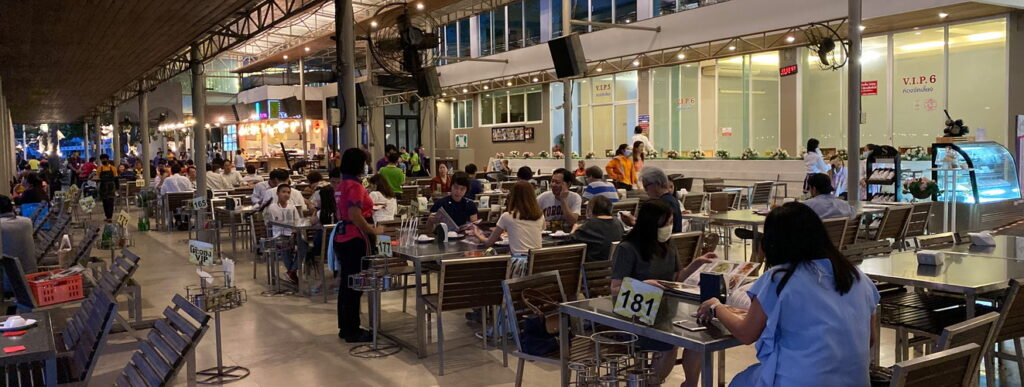 Mum Aroi Naklua Pattaya Fischrestaurant am Meer mit Livemusik